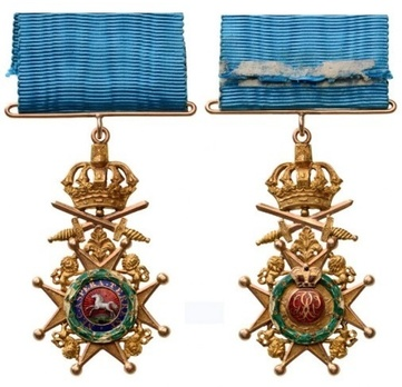 Knight (Military Division) Obverse and Reverse