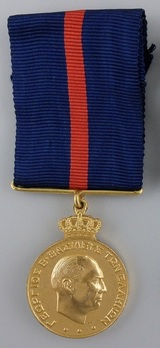 Long Service and Good Conduct Medal, I Class Obverse