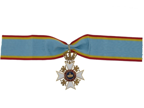 Civil Division, Commander Cross (in silver gilt)