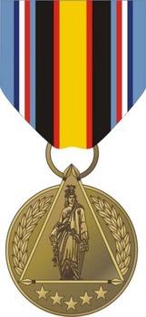 Secretary of Defense Global War on Terrorism Civilian Service Medal Obverse