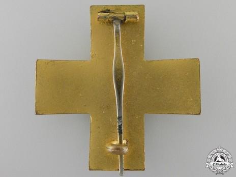 Cross of Honour of the German Red Cross, Type III, Merit Cross Reverse