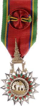Order of the White Elephant Knight Officer (IV Class) Obverse
