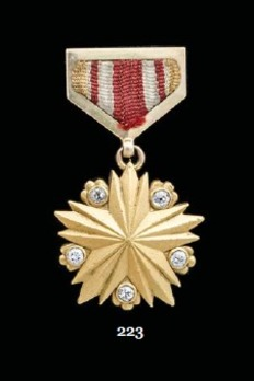 "Medal of the ""Gold Star"" Hero of the Mongolian People's Republic"
