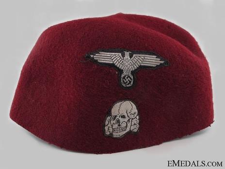 Waffen-SS Dress Fez Obverse