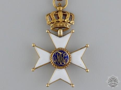 Commander Cross (Gold) Obverse