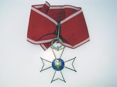 Order of Polonia Restituta, Commander (1939-1992) Obverse