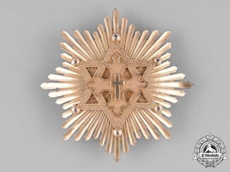 Order of Solomon's Seal, Grand Cross Breast Star Obverse