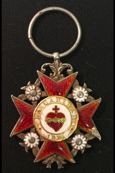 Order of Charity, Type I, III Class Cross Obverse