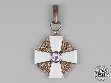 Order of the White Rose, Type I, Civil Division, I Class Commander Cross Obverse