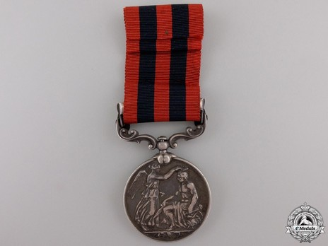 """Silver Medal (with """"SAMANA 1891"""" clasp) Reverse"""