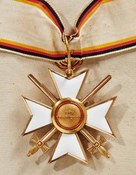 Order of Merit, Military Division, II Class Cross (with swords, 1914-1918)