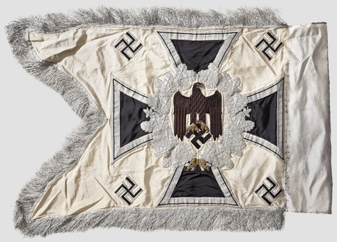German Army General Army Unit Flag (Infantry Motorized and Mounted version) Reverse