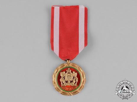 Order of Civil Merit, I Class Obverse