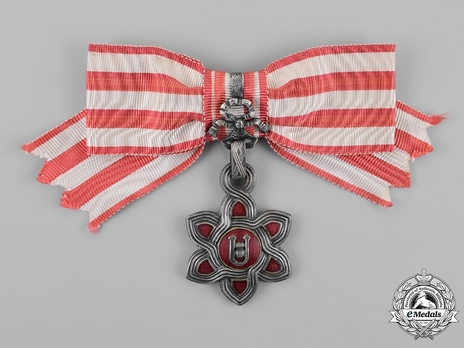 I Class Grand Officer (for ladies) Obverse