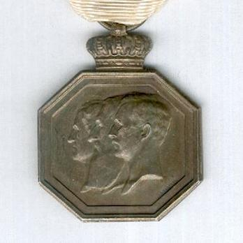 """Commemorative Medal for the 100th Anniversary of National Independence (stamped """"G DEVREESE"""") Obverse"""