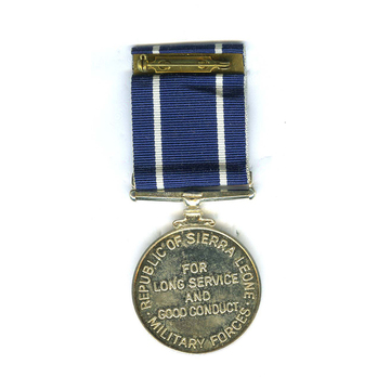 Army Long Service and Good Conduct Medal, Type I Reverse