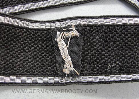Allgemeine SS 7th Standarte Cuff Title Reverse
