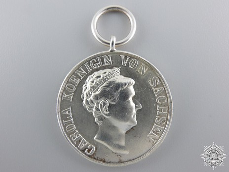 Silver Medal (for homeland merit) Obverse