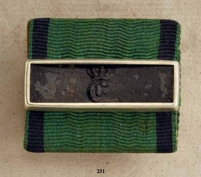 Military Long Service Decoration, III Class Medal for 9 Years (in silver)