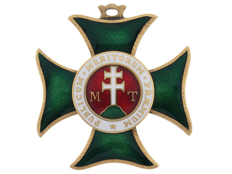 Order of St. Stephen of Hungary, Commander Obverse