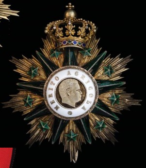 Grand Cross Breast Star (1893-1910) Obverse