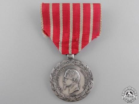 """Silver Medal (stamped """"BARRE"""") Obverse"""