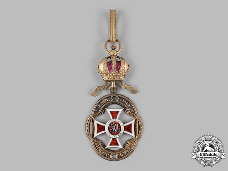 Order of Leopold, Type III, Military Division, Officer's Cross