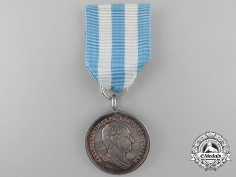 Merit Order of the Bavarian Crown, Silver Medal Obverse