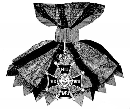 Order of Virtuti Militari, Type II, Grand Cross Obverse
