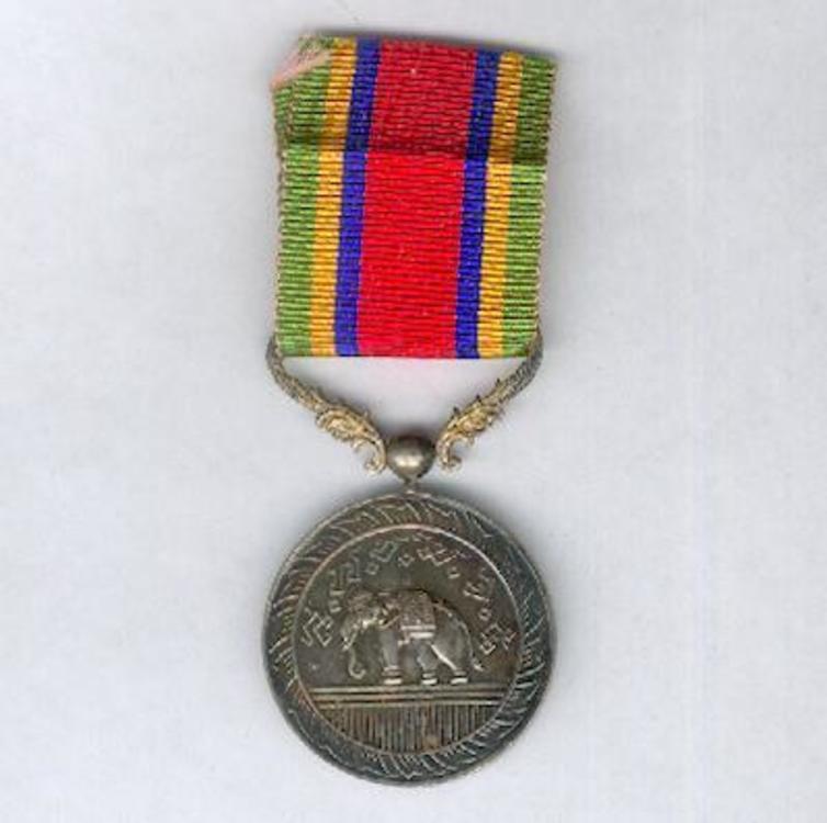 Silver medal obv s