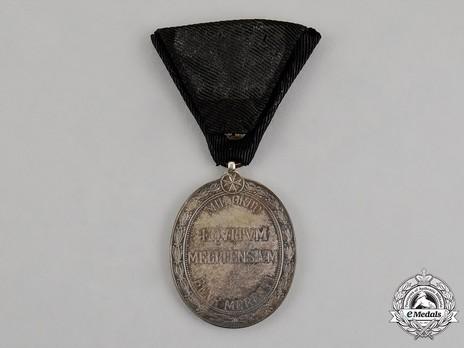 Order of the Knights of Malta, Silver Merit Medal Reverse