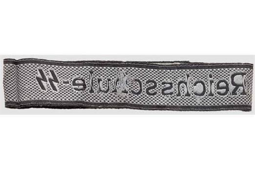 Waffen-SS Reichsschule-SS Cuff Title Reverse