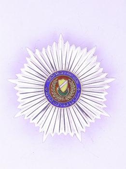 Royal Family Order of Kedah, Breast Star