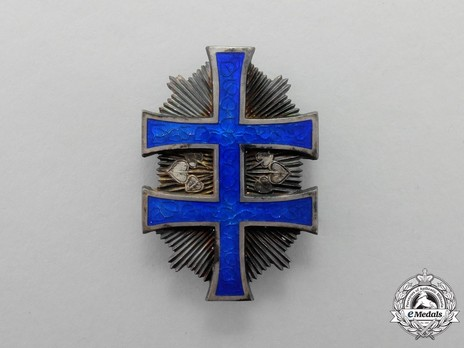 Order of the Military Victory Cross, Type II, III Class Obverse