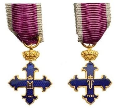 Miniature III Class Cross (1941-1944) Obverse and Reverse
