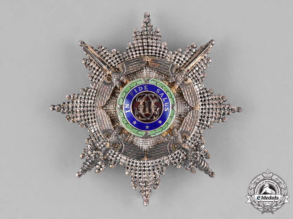 The+order+of+the+star+of+romania%2c+type+ii%2c+military+division%2c+grand+officer%27s+breast+star+1