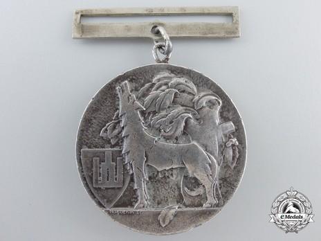 Order of Gediminas, Type II, II Class Medal Reverse
