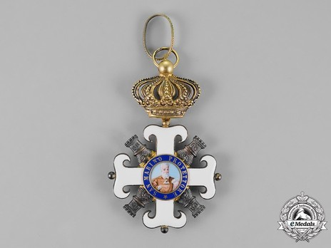 Order of San Marino, Type II, Grand Cross Obverse