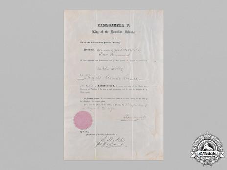 Document Obverse