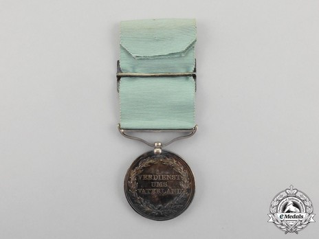 Guelphic Medal for War Merit in Silver Reverse