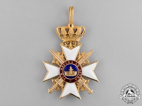 Military Division, Commander Cross (with swords, in gold)