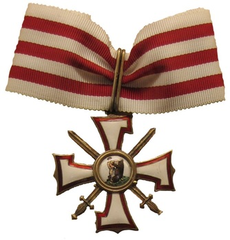 Military Order of the Bear Slayer, II Class Obverse
