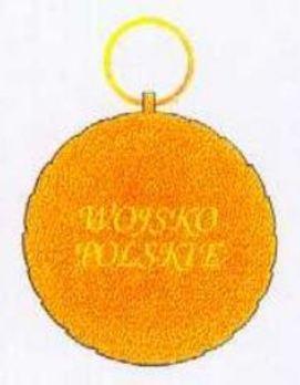 Polish Army Medal, I Class Reverse