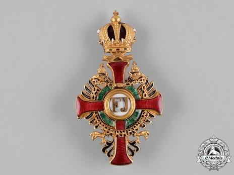 Order of Franz Joseph, Type II, Military Division, Officer (lower grade)