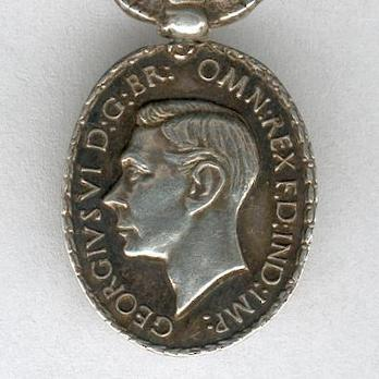 Miniature Silver Medal (1938-1949) Obverse