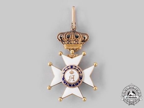 Order of Civil and Military Merit of Adolph of Nassau, Commander with Crown, in Gold (Civil Division)