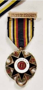 Order of Abassia (Imtiaz-i-Abbasia), IV Class Member