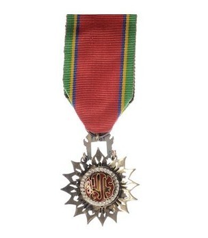 Order of the White Elephant Knight Officer (IV Class) Reverse