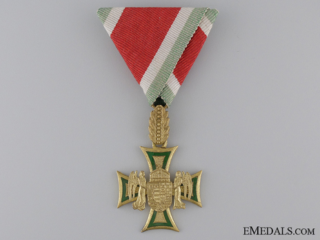 Long Service Decorations for Officers, I Class Obverse