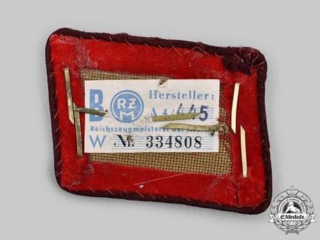 NSDAP Ober-Abschnittsleiter Type IV Gau Level Collar Tabs Reverse